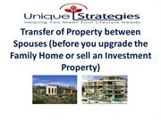 Website Presentation No. 5 Transfer of property between spouses