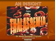 Insight into Thalassemia