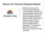Ormond Beach FL Hotel, Ormond Beach, FL Hotels, Daytona Beach Hotels F