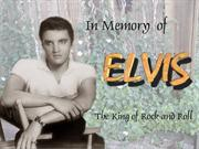 Elvis today, tomorrow and forever