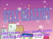 english stay healthy