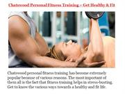 Chatswood Personal Fitness Training – Get Healthy & Fit