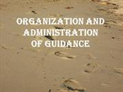 Organization and Administration of Guidance by crystymors