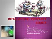 INTELLECTUAL PROPERTY RIGHTS by Kailash Vilegave