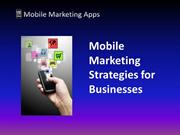 Mobile Marketing Strategies for Businesses