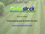 Lawnmower Tires: How to read the sidewall on a lawn mower tire