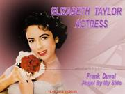 ELIZABETH TAYLOR ACTRESS