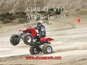 Gear Up with ATV Helmets!