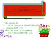 Lich su 9 Bi 29- C nc trc tip  chin u chng M, cu nc (196