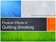 Physical Effects of Smoking (Session 3)