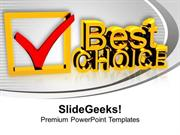 CONSULTING BEST CHOICE BUSINESS PPT TEMPLATE 1