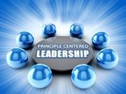 Principle Centred Leadership Book Review