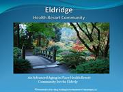 Eldridge Health Resort Presentation