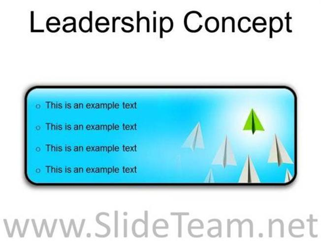 Good Skills Of Leader Team Management Presentation Slides R