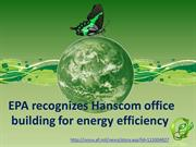 EPA recognizes Hanscom office building for energy efficiency