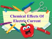 made by shalini yadav 8 b on chemical effects of electric current