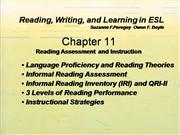 RWL in ESL Chapter 11