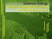 ZIMBIO - Newsvine - SOLAMON ENERGY SCAM SAFETY NEWS-Apollo Acre