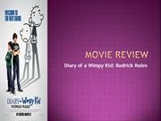 ENGLISH PROJECT-MOVIE REVIEW