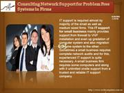 Consulting Network Support for Problem Free Systems in Firms-swiftcomp