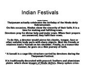 Indian Festivals powerpoint