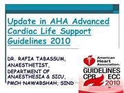 AHA GUIDELINES 2010