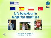 Safe behaviour in dangerous situations pl