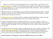 Meldrum the Mover Released Their Latest Moving Tips for All