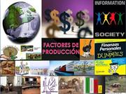 PRESENTACION EN POWER POINT_FACTORES DE PRODUCCION