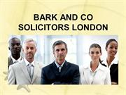 BARK AND CO SOLICITORS LONDON