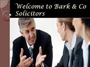 Bark & Co Solicitors