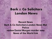 Recent News  |  Bark & Co Solicitors London News | Zimbio