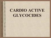 CARDIO ACTIVE GLYCOCIDES