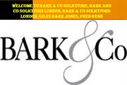 Welcome to Bark & Co Solicitors