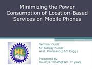 Location Based Services,