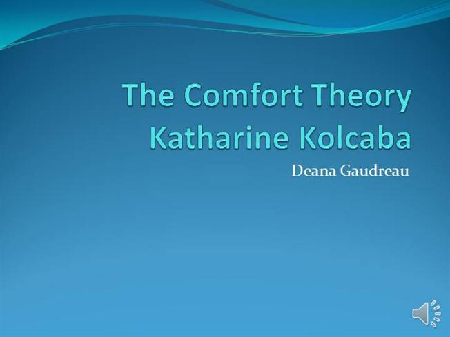 the comfort theory