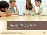Human Resources - Employee Engagement