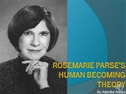 Adenike Adeyo - Rosemarie Parse Human Becoming Theory Presentation (3)