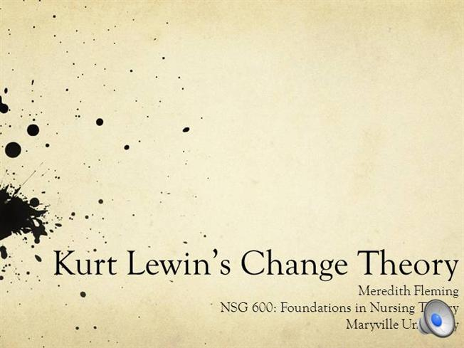 kurt lewin cognitive field theory of learning