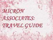 MICRON ASSOCIATES TRAVEL GUIDE