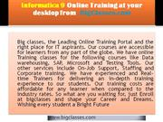 Informatica and Informatica 9.5 online training