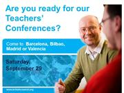 Teacher's Conferences 2012