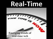 Emerging trends of real-time web!
