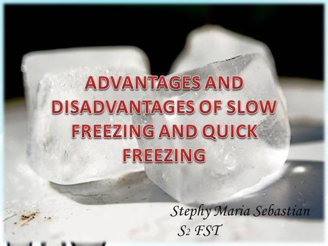 Ppt chpter 6 freezing and frozen-food storage powerpoint.