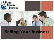 United Advisory Partners, Inc. -  Selling Your Business