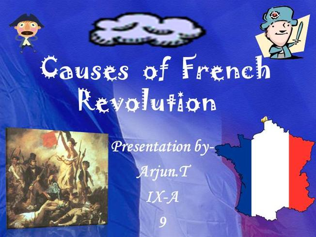 Causes and effects of the french revolution essays - feuerwehr ...