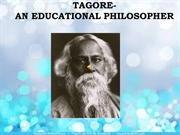 rabindranath tagore......