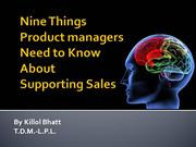 Nine Things Product Managers Need to Know About