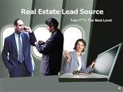 Real Estate Lead Source