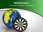 TARGETS TARGET THE GLOBAL MARKET PPT TEMPLATE